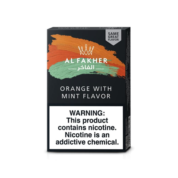 Al Fakher Orange With Mint Shisha Flavor 50g