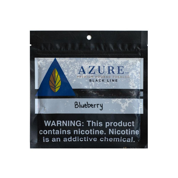 Azure Black Line Blueberry Hookah Tobacco 100g