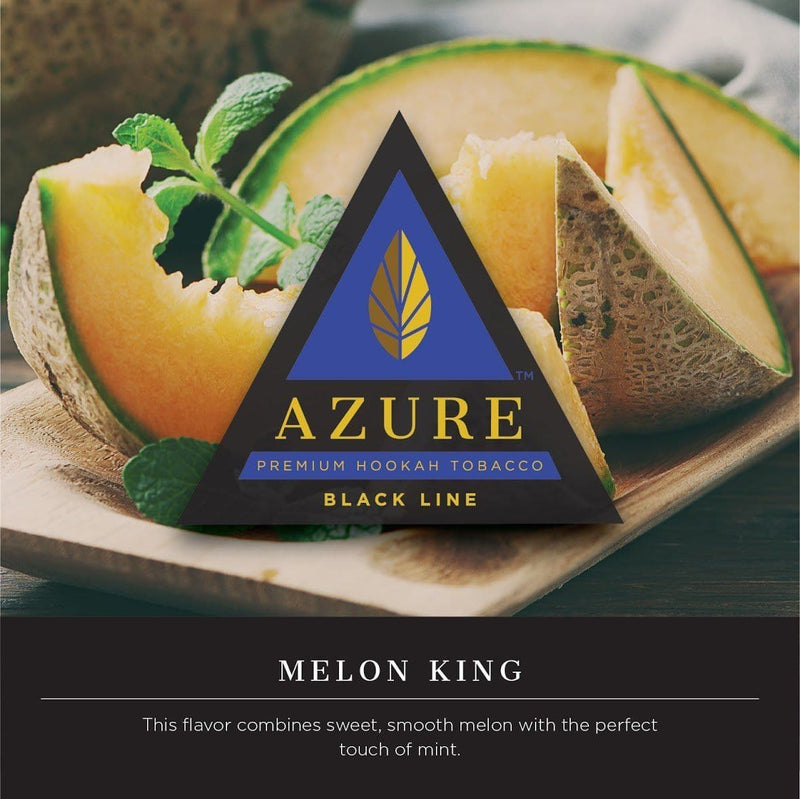 Azure Black Line Melon King Hookah Tobacco 100g