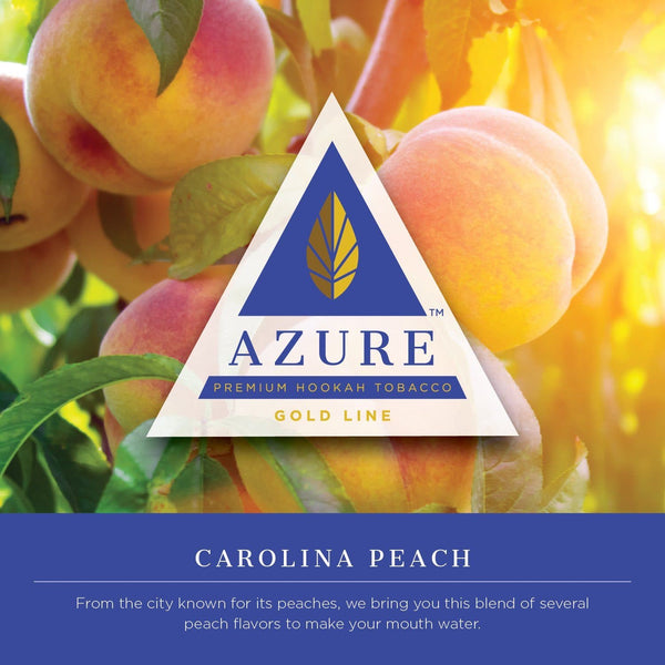 Azure Carolina Peach Hookah Tobacco 100g