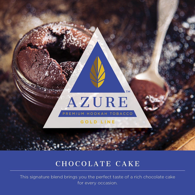 Azure Gold Line Chocolate Cake Hookah Tobacco 100g