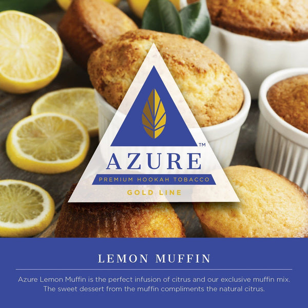Azure Gold Line Lemon Muffin Hookah Tobacco 100g