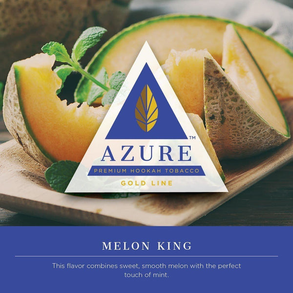Azure Gold Line Melon King Hookah Tobacco 100g