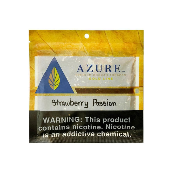 Azure Gold Line Strawberry Passion Hookah Tobacco 100g
