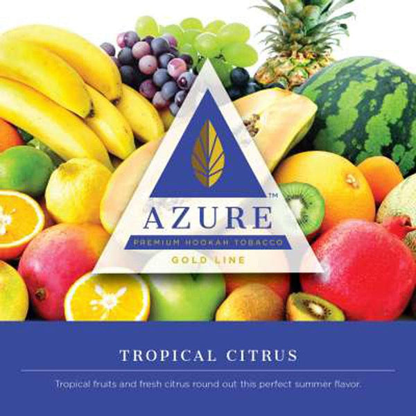Azure Gold Line Tropical Citrus Hookah Tobacco 100g