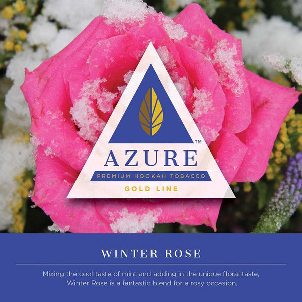 Azure Gold Line Winter Rose Hookah Tobacco 100g