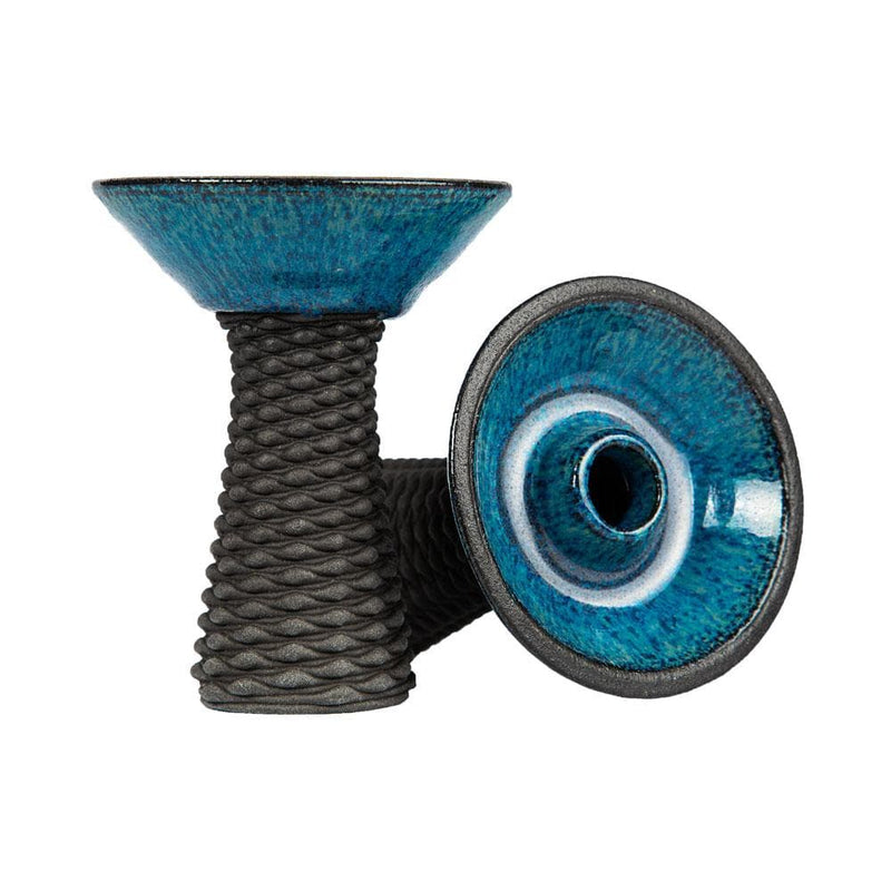 Conceptic Design 3D-13 Phunnel Clay Hookah Bowl Bue