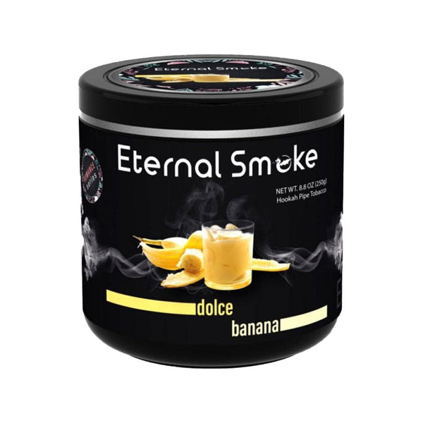 Eternal Smoke Dolce Banana Hookah Tobacco 250g
