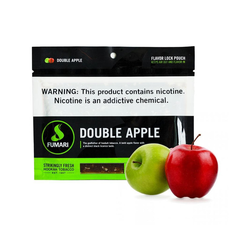 Fumari Double Apple Hookah Tobacco 100g
