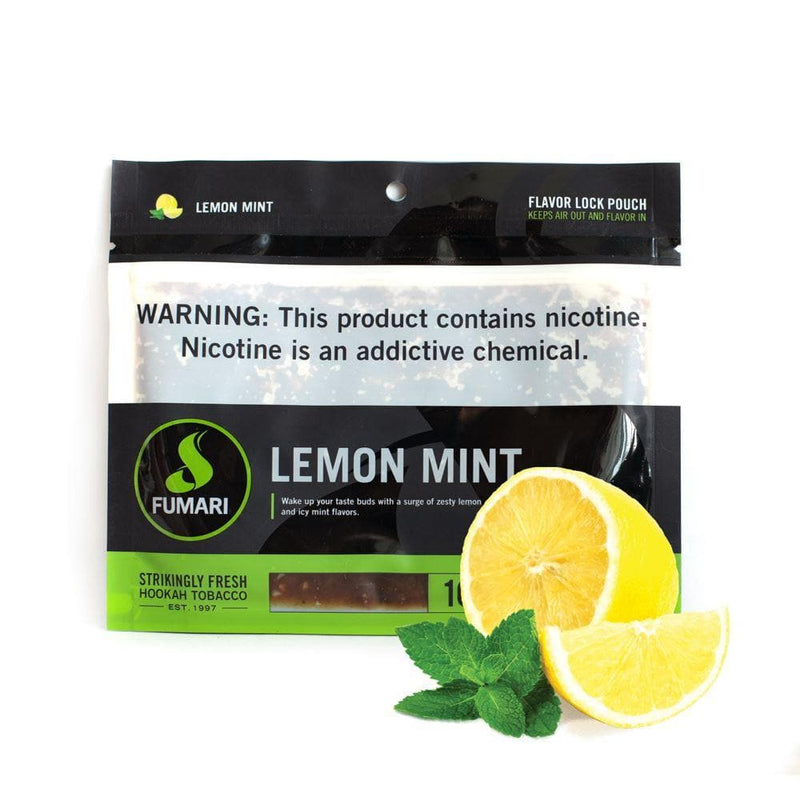 Fumari Lemon Mint Hookah Tobacco  100g