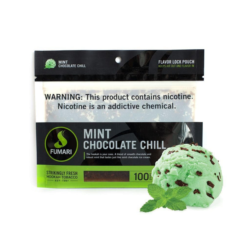 Fumari Mint Chocolate Chill Hookah Tobacco 100g