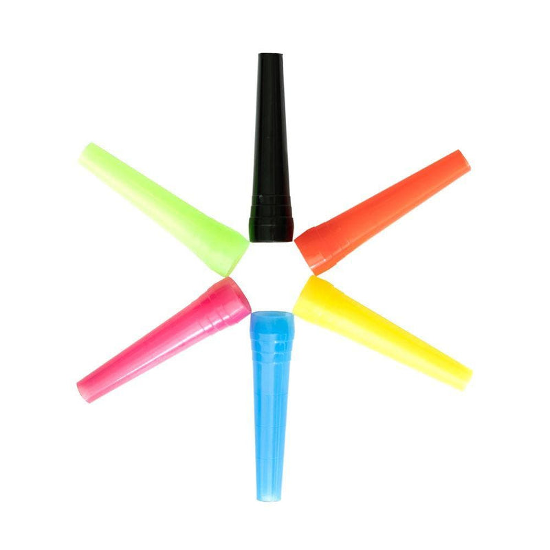 Icon Tips - Disposable Mouth Tips for Hookah - 6 mixed colors