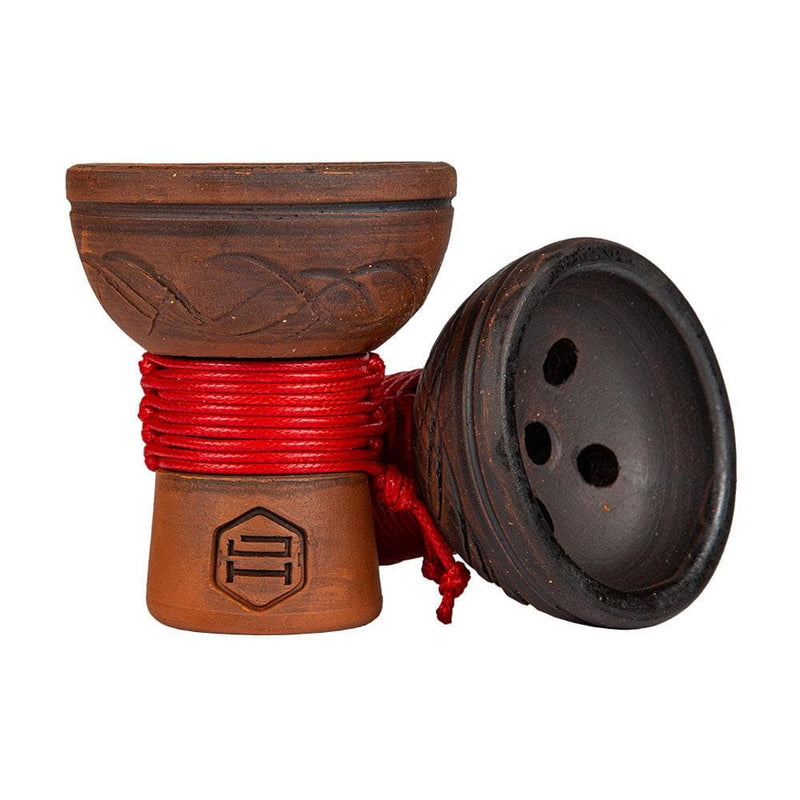 Japona Hookah Turkish Hookah Bowl Red