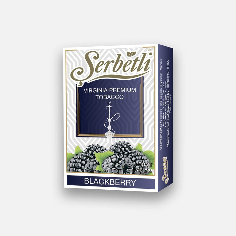 Serbetli Blackberry hookah tobacco