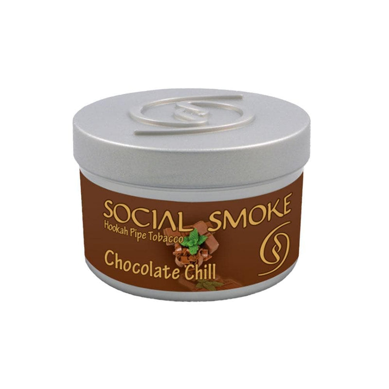 Social Smoke Chocolate Chill Hookah Tobacco 250g