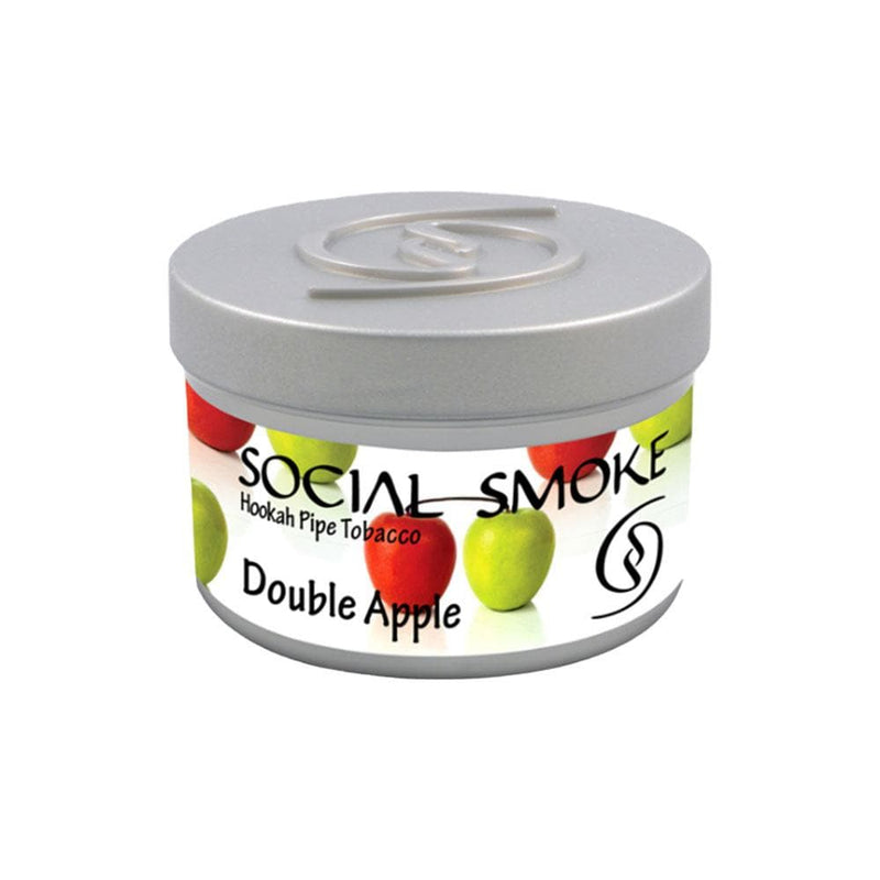 Social Smoke Double Apple Hookah Tobacco 250g