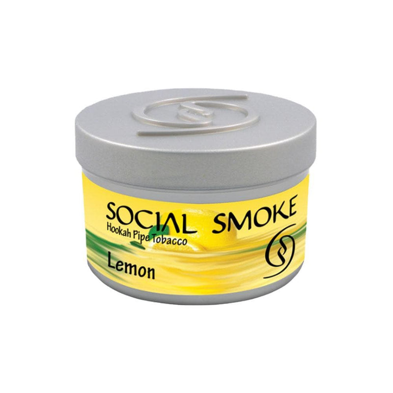 Social Smoke Lemon Hookah Tobacco 250g