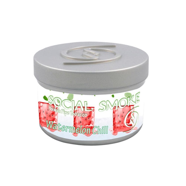 Social Smoke Watermelon Chill Hookah Tobacco 250g