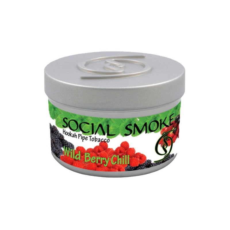 Social Smoke Wild Berry Chill Hookah Tobacco 250g