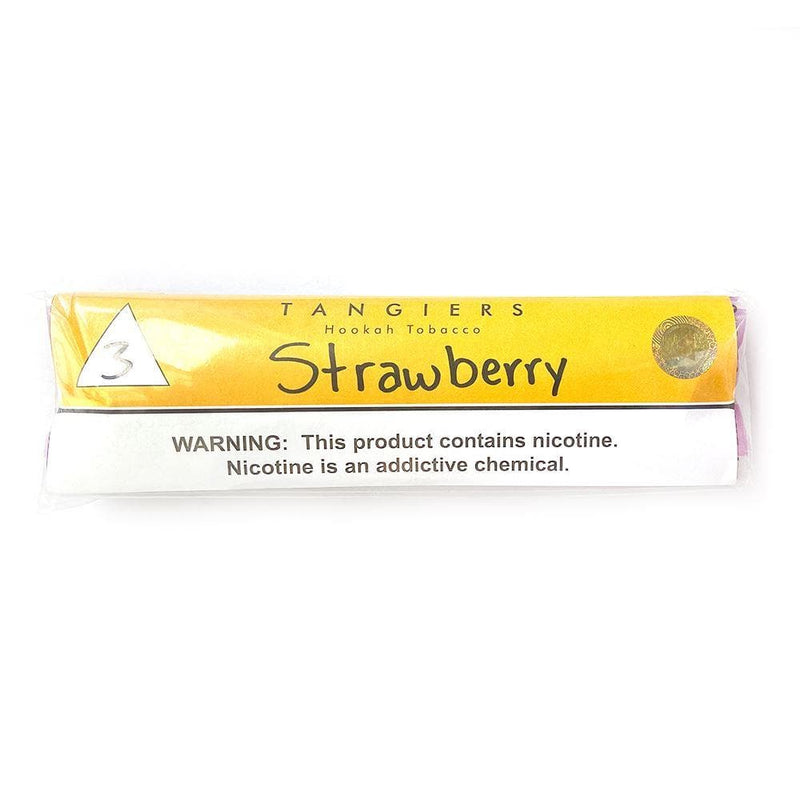 Tangiers Noir Strawberry Hookah-Tobacco 250g