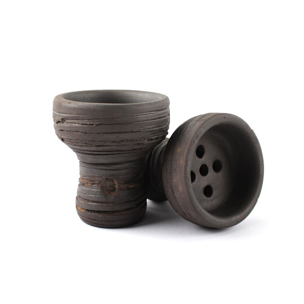 Vintage Dark Turkish Mummy Hookah Bowl