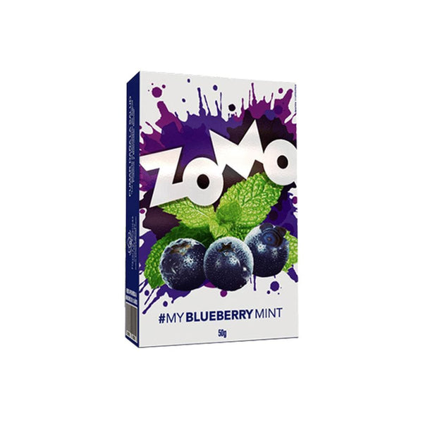 Zomo Blueberry Mint Hookah Tobacco 50g