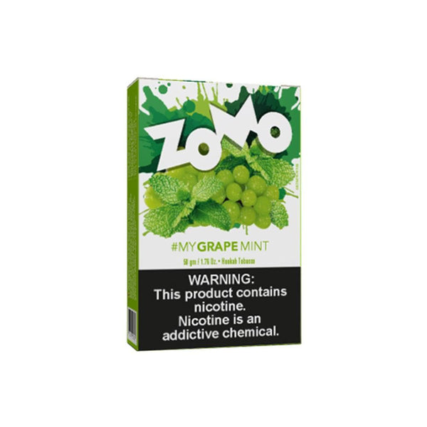 Zomo Grape Mint Hookah Tobacco 50g