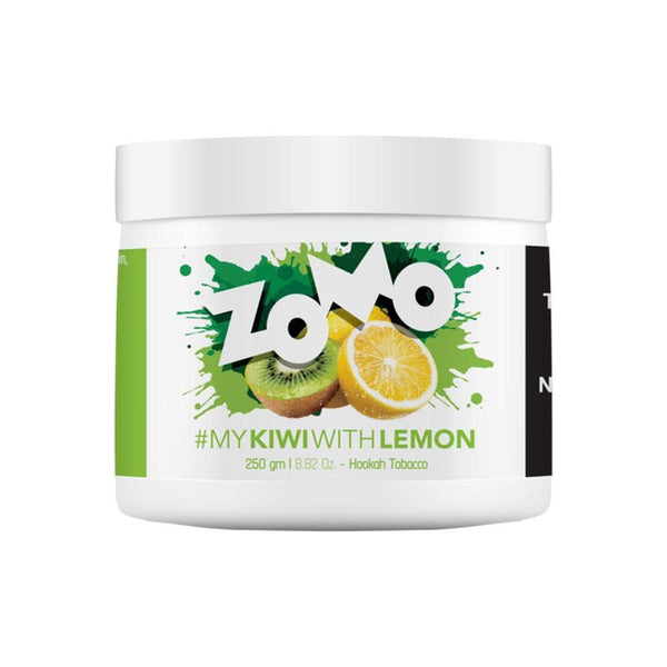 Zomo Kiwi With Lemon Hookah Tobacco 250g