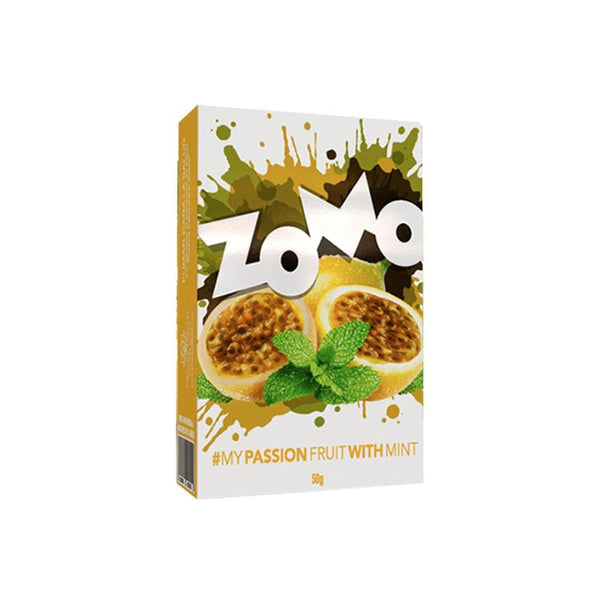 Zomo Passionfruit With Mint Hookah Tobacco 50g