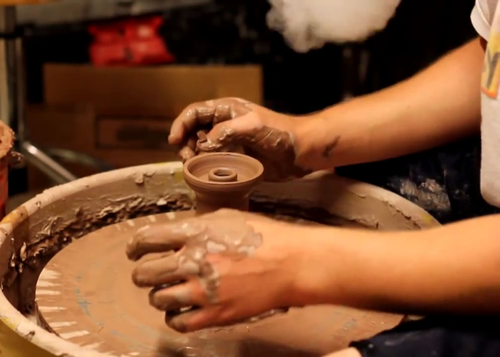 Clay hookah bowl manufacturing