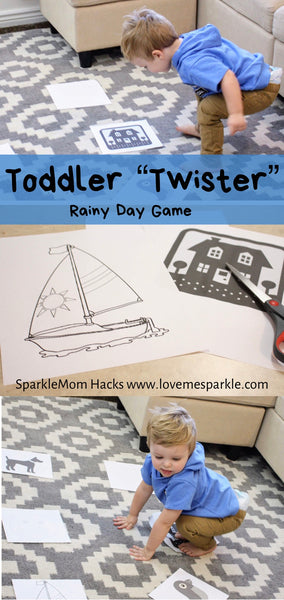 "Toddler ""Twister"" Game"