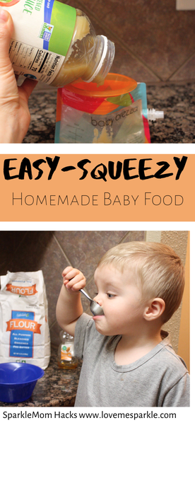 Easy-Squeezy Homemade Baby Food