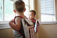 Load image into Gallery viewer, Toddler boys with backpacks by LoveMeSparkle