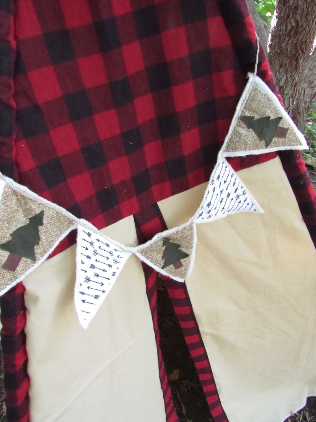 Hudson teepee pennant banner by LoveMeSparkle