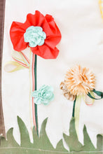 Load image into Gallery viewer, fabric and silk flowers and grass by LoveMeSparkle