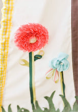 Load image into Gallery viewer, floral detail on play teepee by lovemesparkle