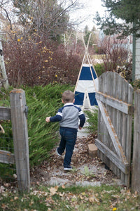 Little boy's play fort tent by LoveMeSparkle