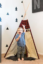 Load image into Gallery viewer, Woodland Nursery Teepee by LoveMeSparkle