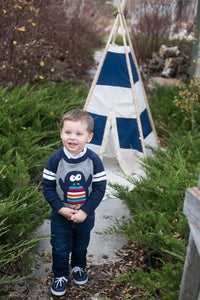 Toddler Teepee tent for boys by LoveMeSparkle