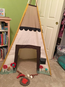 play teepee tent by lovemesparkle