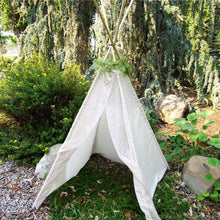 Load image into Gallery viewer, Garden Fairy lace teepee from LoveMeSparkle