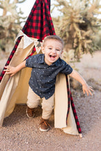 Load image into Gallery viewer, Little boy's play fort tent by LoveMeSparkle