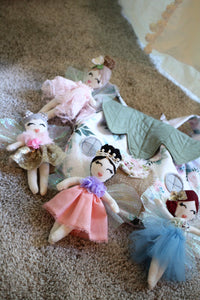 handmade girl's fairy dolls by LoveMeSparkle
