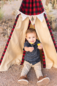 Woodland/camping kid's tent by LoveMeSparkle