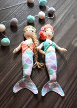 Load image into Gallery viewer, MERMAID DOLL SET
