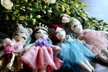 Load image into Gallery viewer, Handmade heirloom fairy princess dolls by LoveMeSparkle