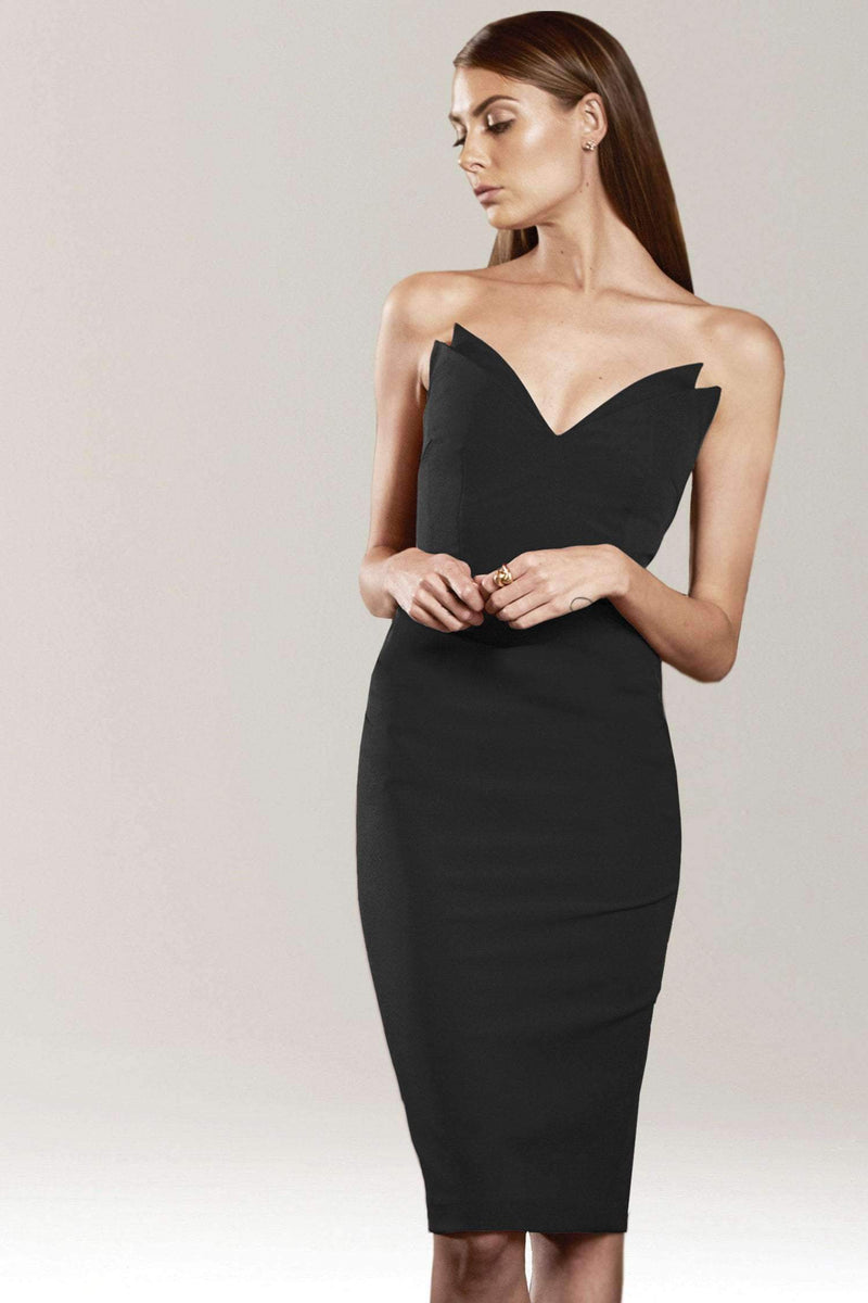Jessica Strapless Pencil Dress