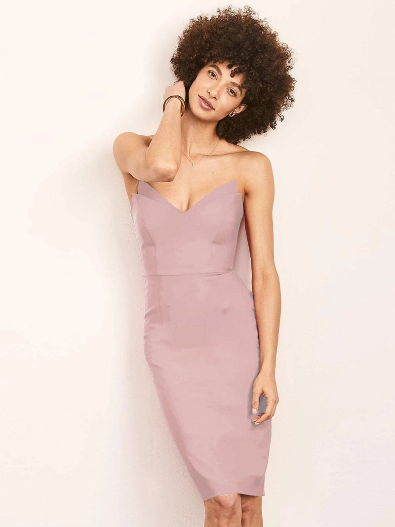 Jessica Strapless Pencil Dress-Altress