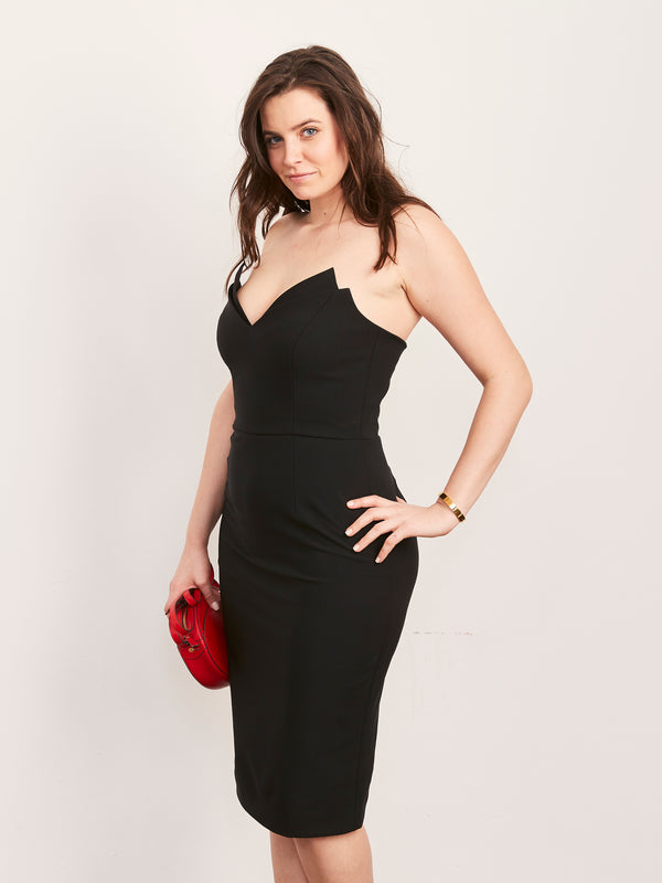 Jessica Strapless Pencil Dress-Dress-Altress