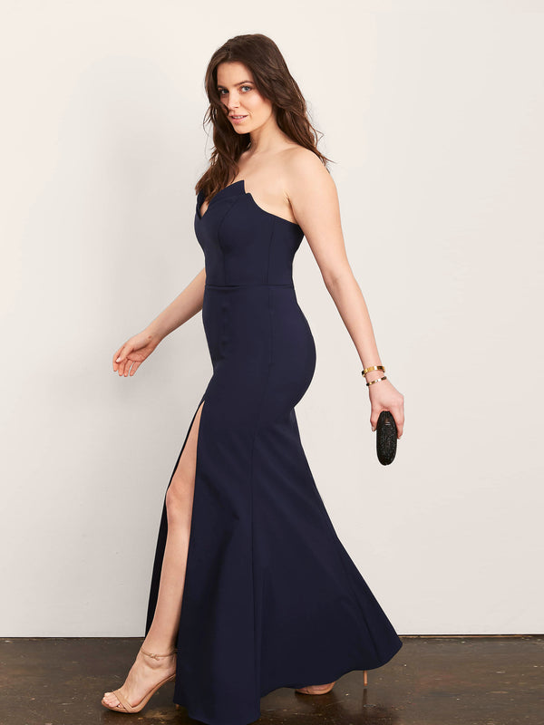 Jessica Gown with Slit